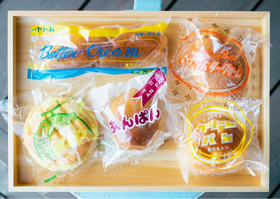 なつかしの「ときわベーカリー」のパン