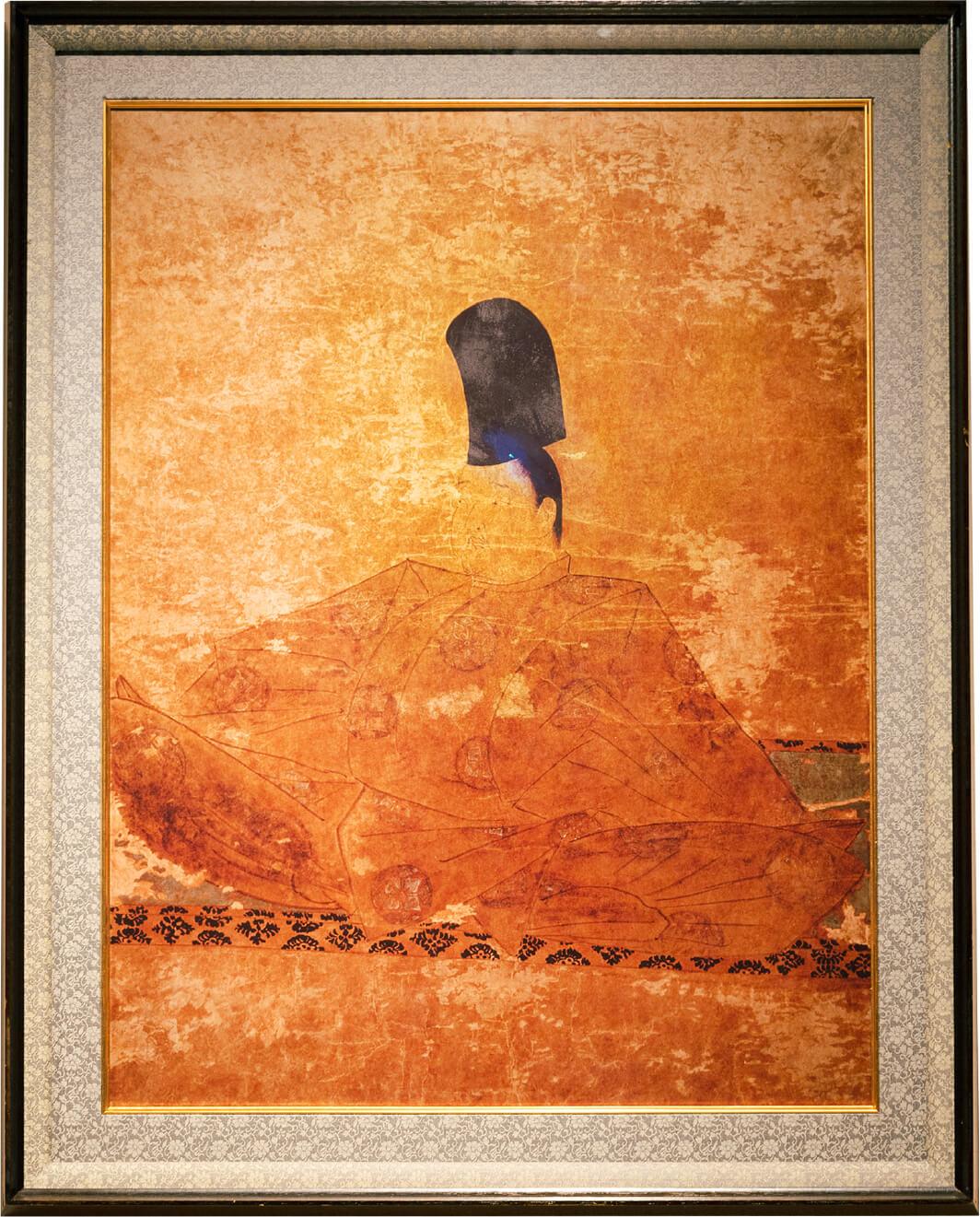 後鳥羽院御影肖像画(複製品)