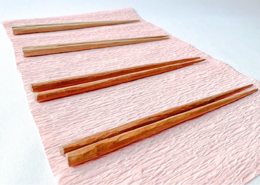 隠岐神社の桜の箸